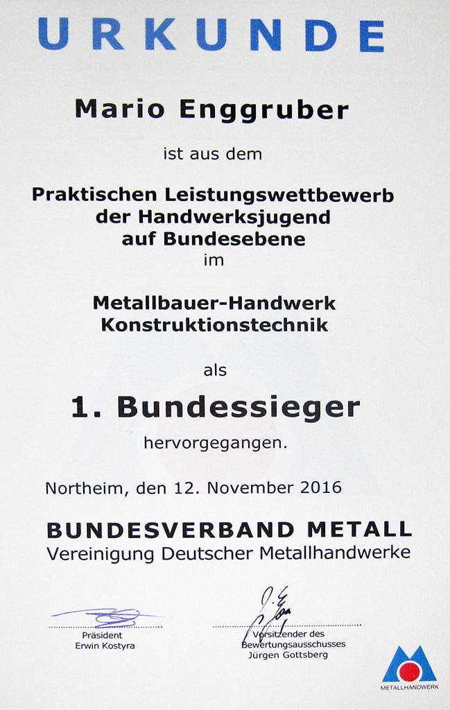 Deutschlands bester Jung-Metallbauer kommt aus Wittibreut - Plansky ...